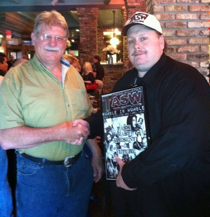 Stan Hansen and Bob Murphy Photo: Provided By Texas All-Star Wrestling
