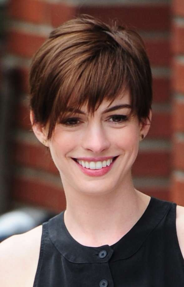 Some female runners-up: Anne Hathaway