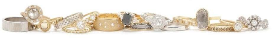 Gallery of Jewels' two-week Endless Love showcases handmade local wedding rings.
