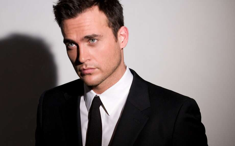 Actor, singer and  Broadway star Cheyenne Jackson visits Macy's Union Square.