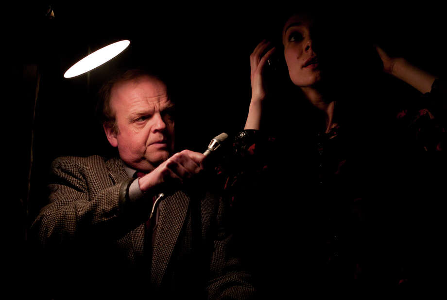 Toby Jones plays Gilderoy, a sound tech for a horror film peppered with Tonia Sotiropoulou's screams. Photo: Handout / ONLINE_YES