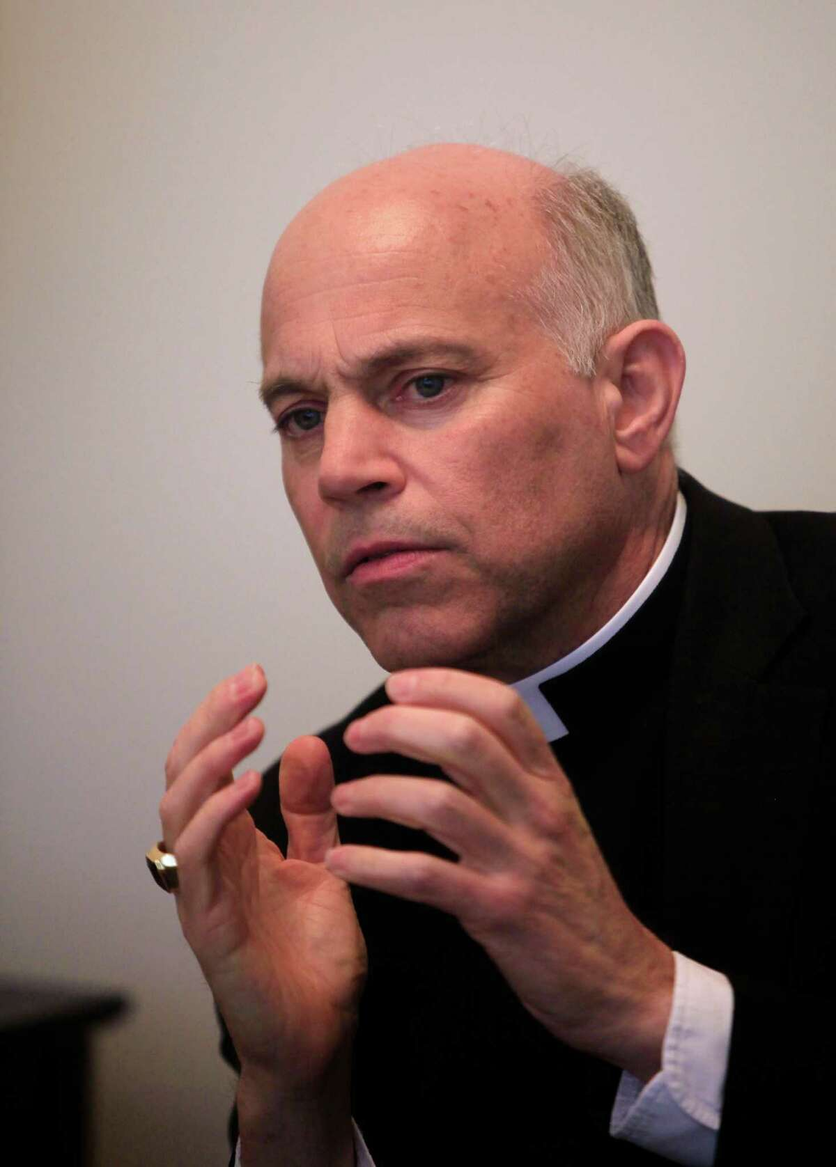 Archbishop Salvatore Cordileone is seen at the Archdiocese of San Francisco on Thursday, June 6, 2013 in San Francisco, Calif.
