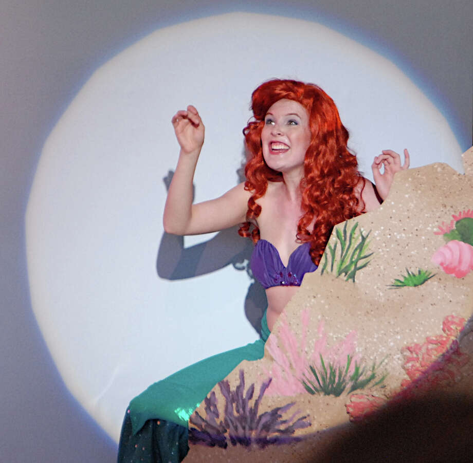 "Sarah Mae Banning of New Canaan plays Ariel in the Summer Theatre of New Canaan's production of ""The Little Mermaid Jr.,"" which runs through Aug. 11. Photo: Contributed"