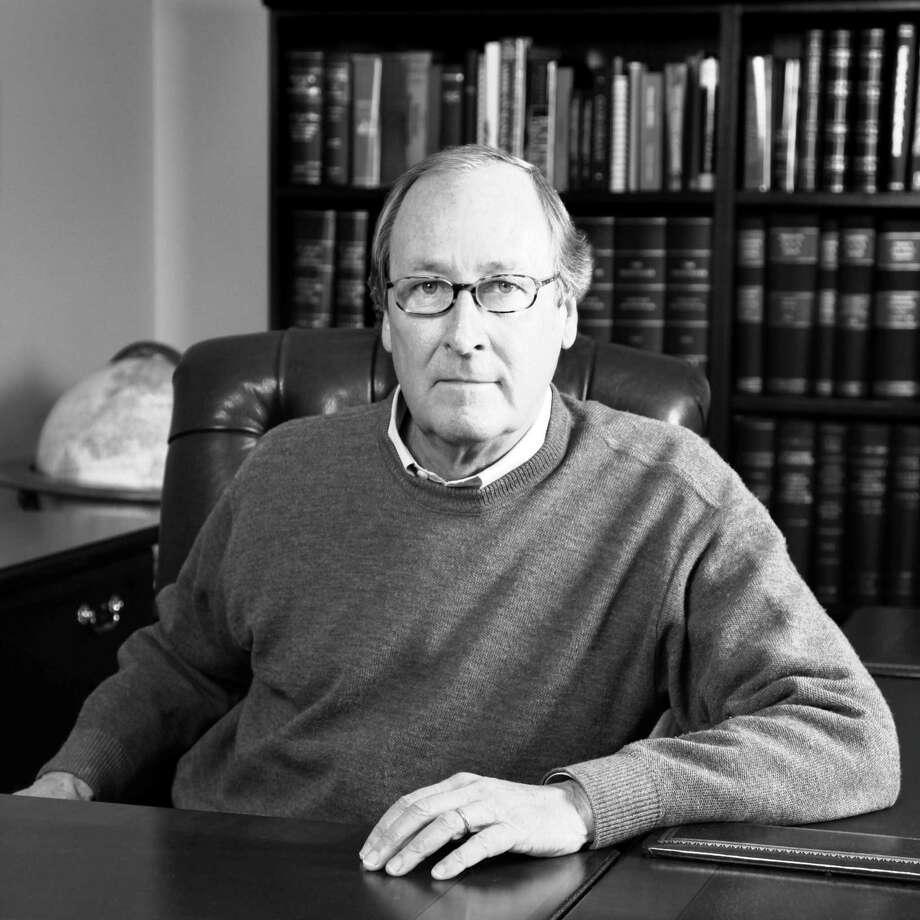 "San Antonio lawyer and banker John Kerr's latest historical novel is ""Hurricane Hole."" Photo: Courtesy"