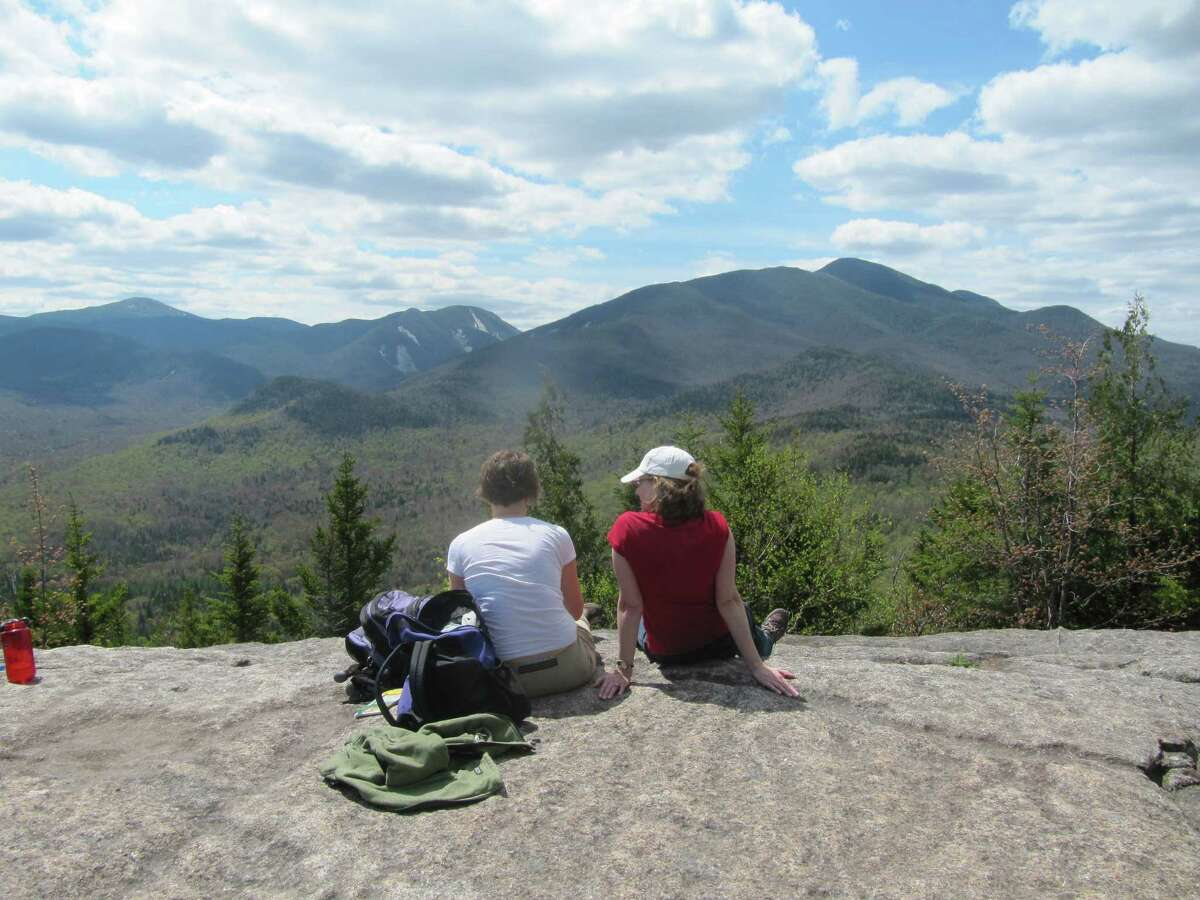 Mt. Jo, outside Lake Placid, offers a short but steep climb to breathtaking summit views.