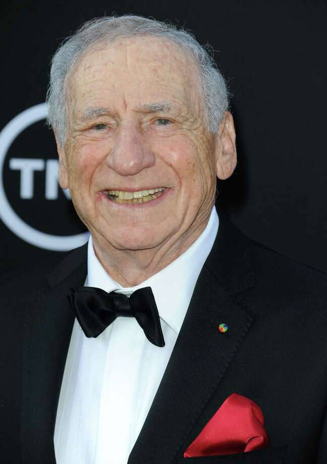 Mel Brooks arrives at the American Film Institute's 41st Lifetime Achievement Gala at the Dolby Theatre on Thursday, June6, 2013 in Los Angeles. (Photo by Katy Winn/Invision/AP) Photo: Katy Winn / Invision