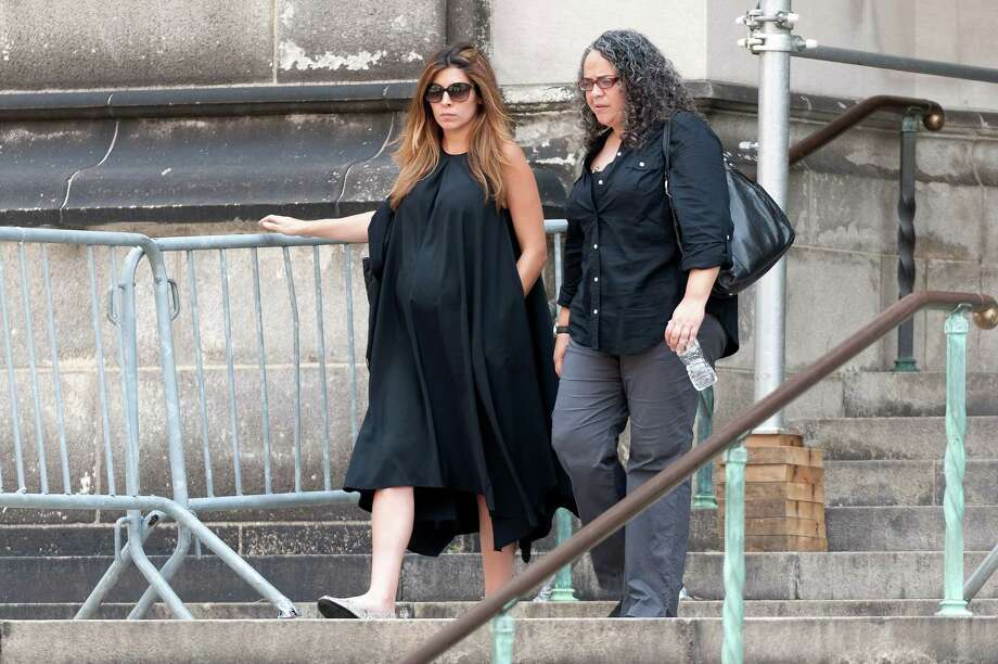 Jamie Lynn Sigler attends the funeral for actor James Gandolfini at The Cathedral Church of St. John the Divine on June 27, 2013 in New York City. Gandolfini passed away on June 19, 2013 while vacationing in Rome, Italy. Photo: D Dipasupil, Getty Images / 2013 Getty Images