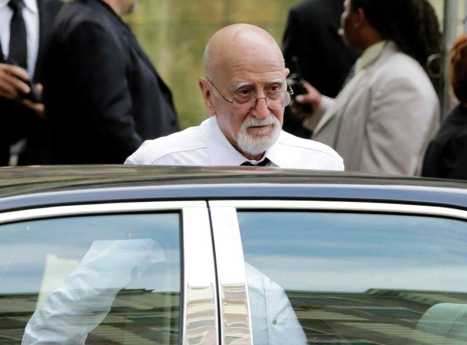 "Actor Dominic Chianese arrives for the funeral service of James Gandolfini, star of ""The Sopranos,"" in New York's the Cathedral Church of Saint John the Divine,  Thursday, June 27, 2013. The 51-year-old actor died of a heart attack last week while vacationing in Italy with his son. Photo: Richard Drew, Associated Press / AP"
