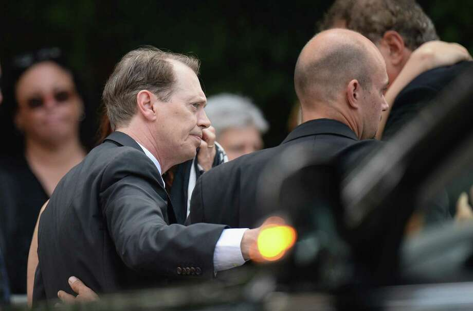 Actor Steve Buscemi attends the funeral for actor James Gandolfini at The Cathedral Church of St. John the Divine on June 27, 2013 in New York City. Gandolfini passed away on June 19, 2013 while vacationing in Rome, Italy. Photo: Mike Coppola, Getty Images / 2013 Getty Images