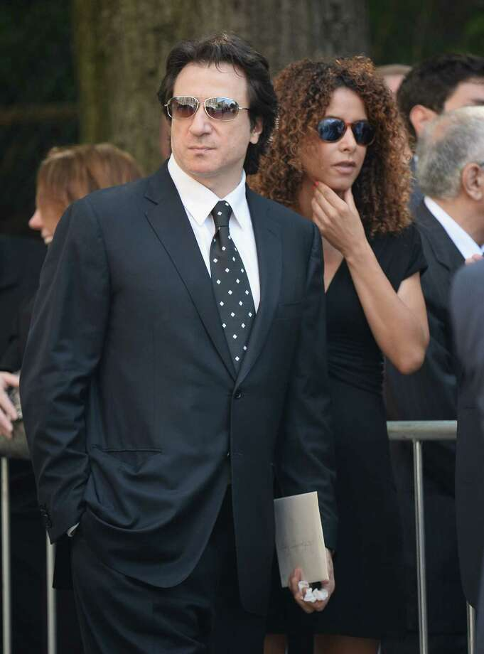 Actor Federico Castelluccio (L) attends the funeral for Actor James Gandolfini at The Cathedral Church of St. John the Divine on June 27, 2013 in New York City. Gandolfini passed away on June 19, 2013 while vacationing in Rome, Italy. Photo: Mike Coppola, Getty Images / 2013 Getty Images