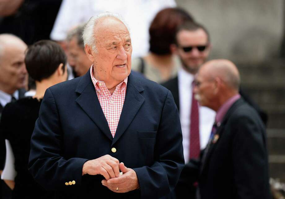 Actor Jerry Adler attends the funeral for Actor James Gandolfini at The Cathedral Church of St. John the Divine on June 27, 2013 in New York City. Gandolfini passed away on June 19, 2013 while vacationing in Rome, Italy. Photo: Mike Coppola, Getty Images / 2013 Getty Images