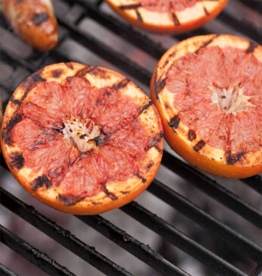 Grilled fruit in cocktails can appeal to men who usually aren't high on drinking a fruit drink in a group. Photo: Courtesy Photo
