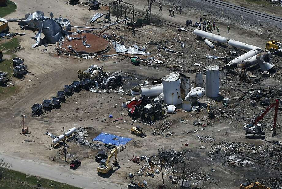 The devastating April fertilizer plant explosion in West, Texas, spurred Sen. Barbara Boxer to pressure the EPA to adopt safety regulations proposed in 2002. Photo: Charles Dharapak, Associated Press