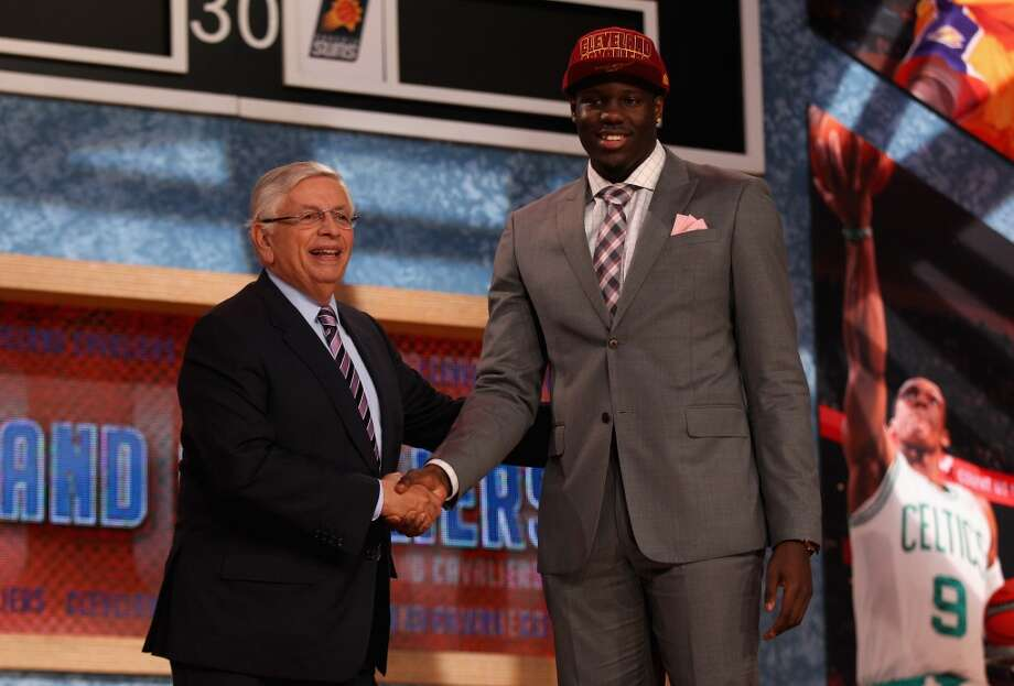 Anthony Bennett was drafted No. 1 overall by the Cavaliers.