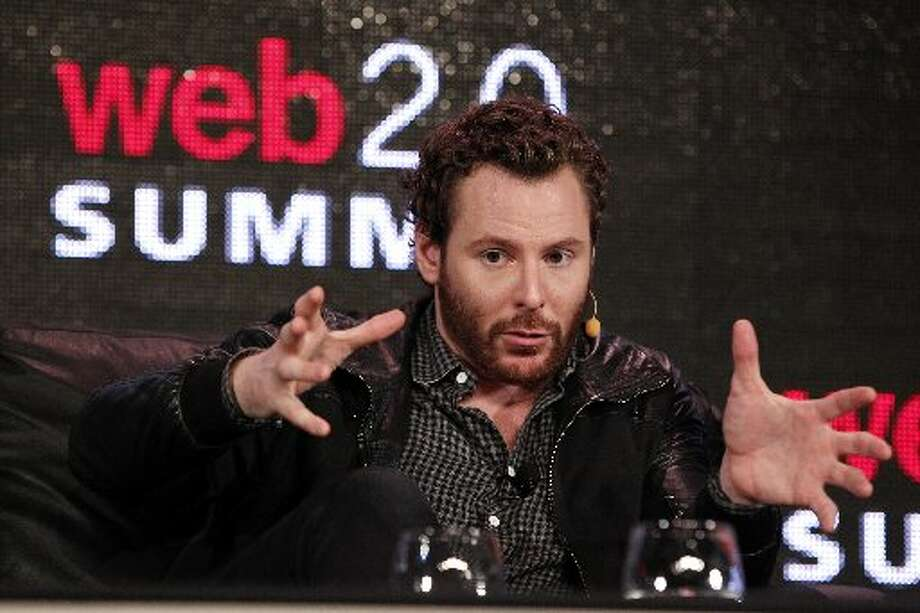 Here's the real Sean Parker in 2011.