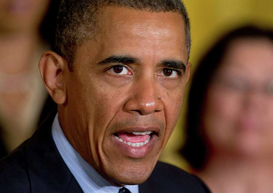 President Barack Obama's obsessive focus on leaks is chilling and a danger to open government and a free press. Photo: Carolyn Kaster, Associated Press / AP