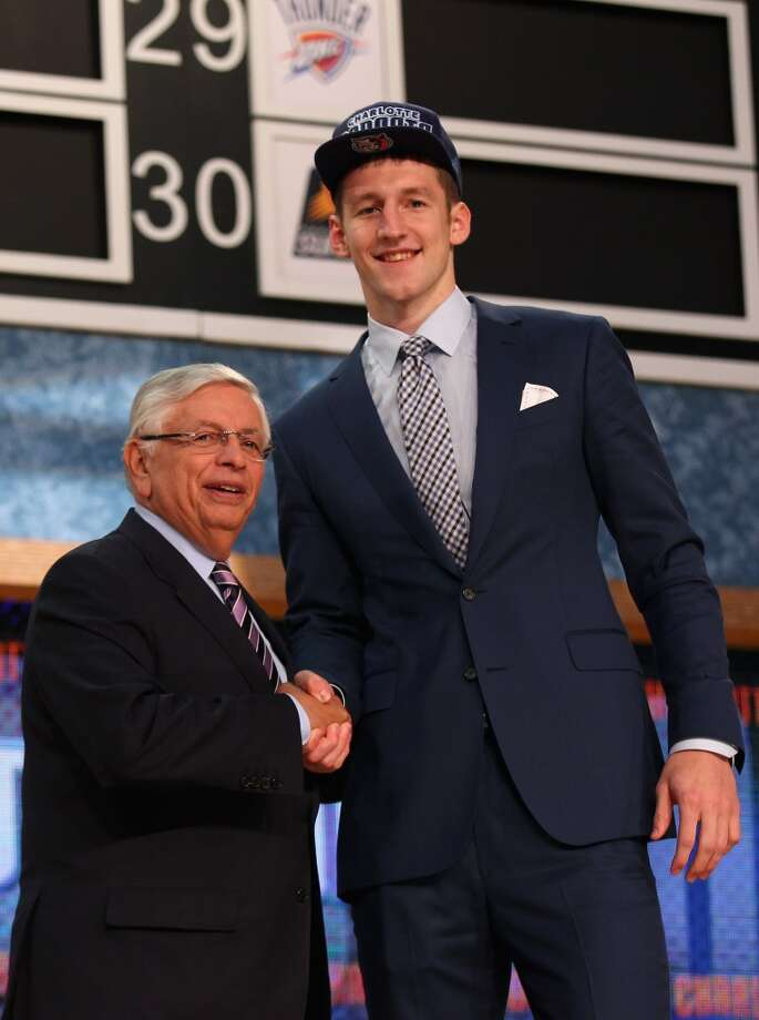 Cody Zeller was drafted No. 4 overall by the Bobcats.