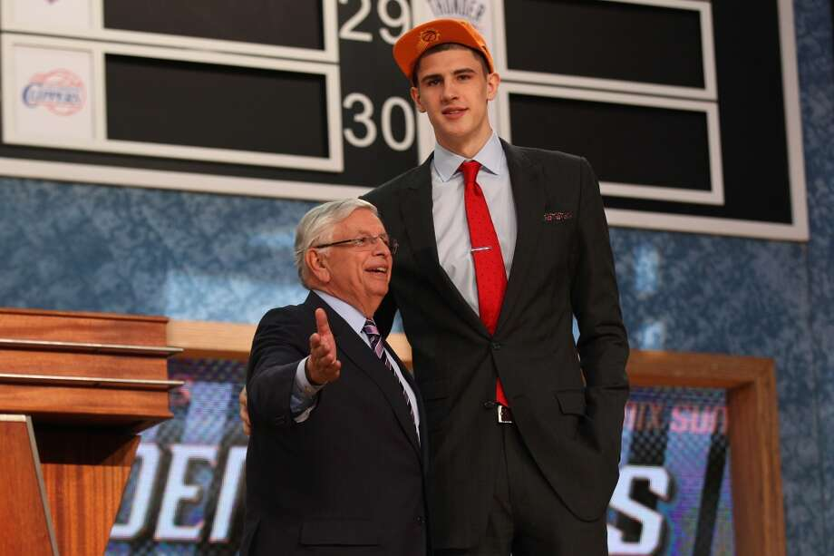 Alex Len was drafted No. 5 overall by the Suns.