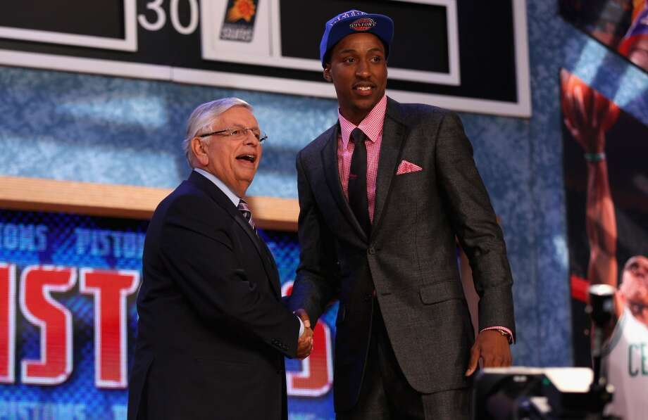 Kentavious Caldwell-Pope was drafted No. 8 overall by the Pistons.