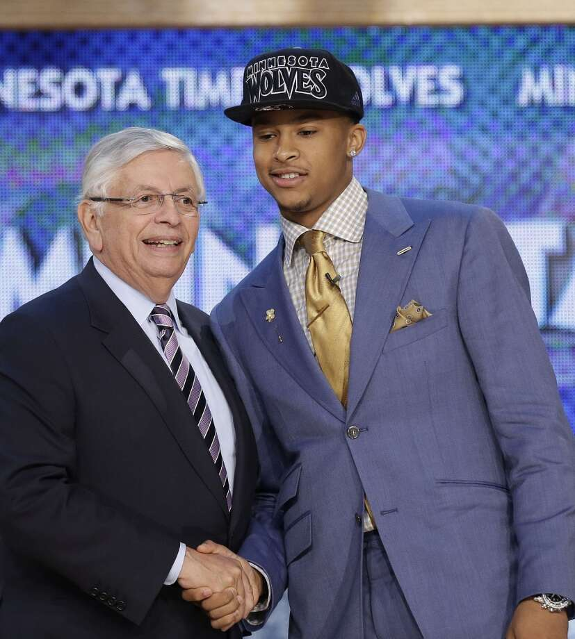 Trey Burke was drafted No. 9 overall by the Kings.