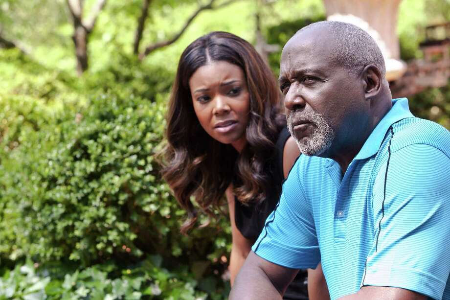 "Gabrielle Union as Mary Jane Paul and Richard Roundtree as Paul Patterson Sr. star in ""Being Mary Jane."" Photo: BET TV / ONLINE_YES"