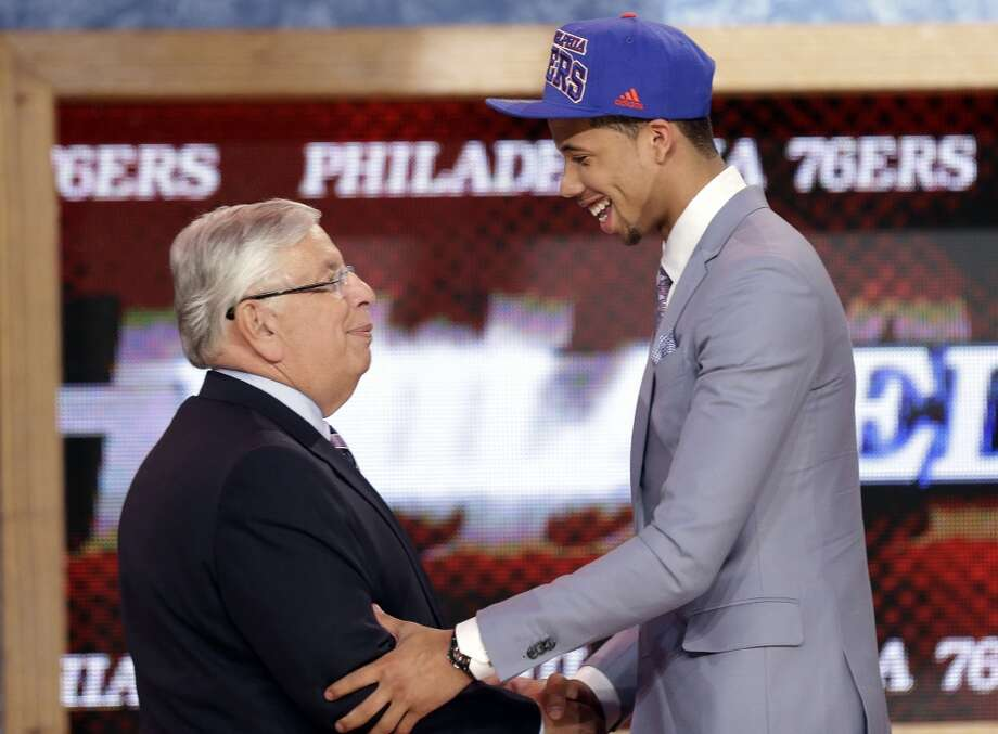 Michael Carter-Williams was drafted No. 11 overall by the 76ers.