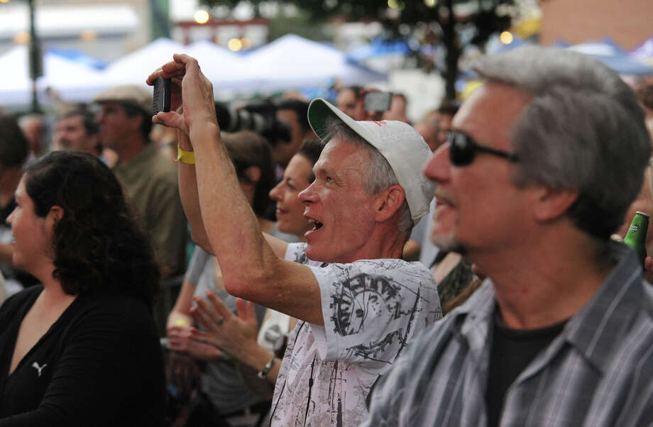 Scenes from the Alive@Five concert series at Columbus Park in Stamford on Thursday, June 27, 2013. Hearst Connecticut News Group is a sponsor. Photo: Jason Rearick / Stamford Advocate