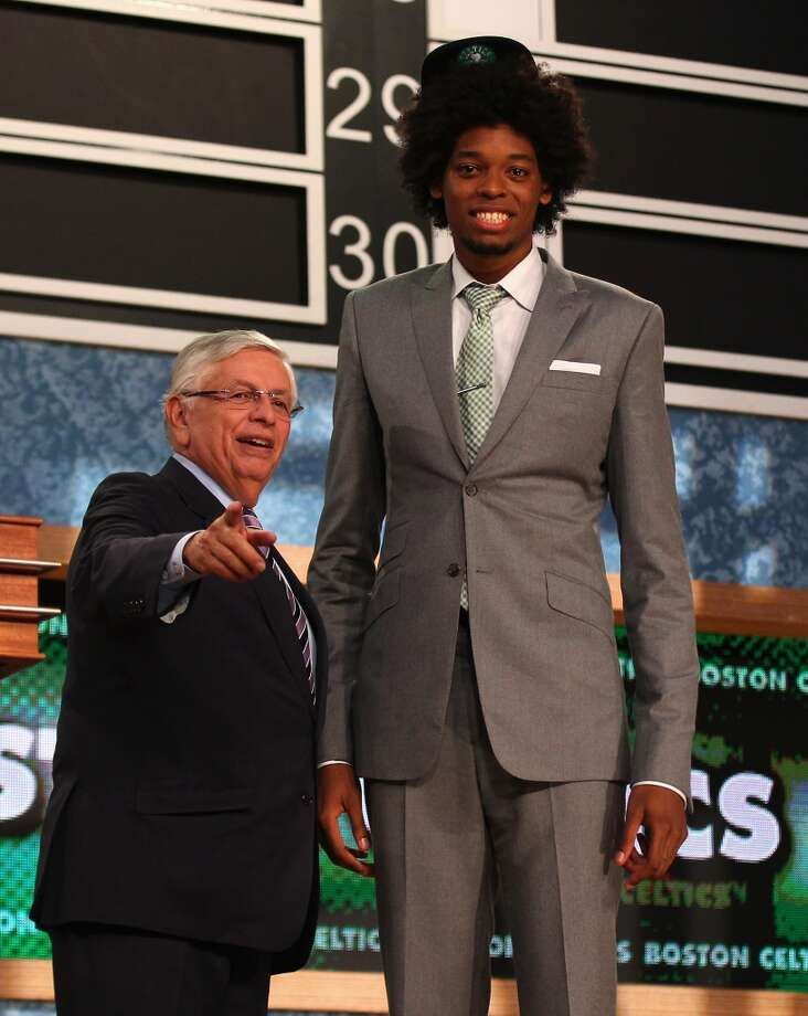 Lucas Nogueira was drafted No. 16 overall by the Celtics.