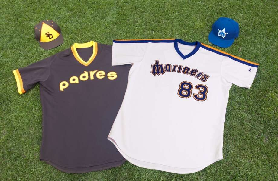 San Diego Padres at 1984 Seattle Mariners (continued)Check out the Padres' 1984 uniform! Quite the retro look. In this game July 1, 2011, the Mariners ended up beating San Diego 6-0 at Safeco Field.