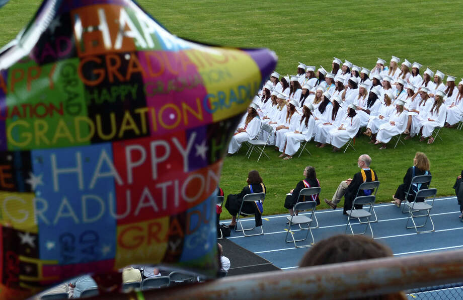 Seymour High School's 126th Annual Commencement in Seymour, Conn. on Thursday June 27, 2013. Photo: Christian Abraham / Connecticut Post