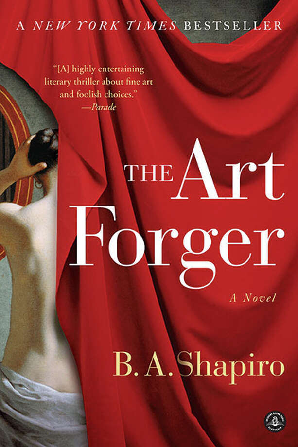 "B.A. Shapiro, author of ""The Art Forger,""  will discuss her new novel at the Aldrich Contemporary Art Museum in Ridgefield, on Thursday, July 11. Photo: Contributed Photo"