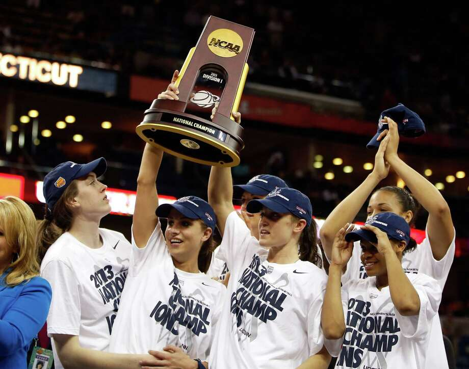 Connecticut, which has won six of its eight national titles in the last 11 years, awaits the Cougars in their move to the American Athletic Conference. Photo: Chris Graythen, Staff / 2013 Getty Images