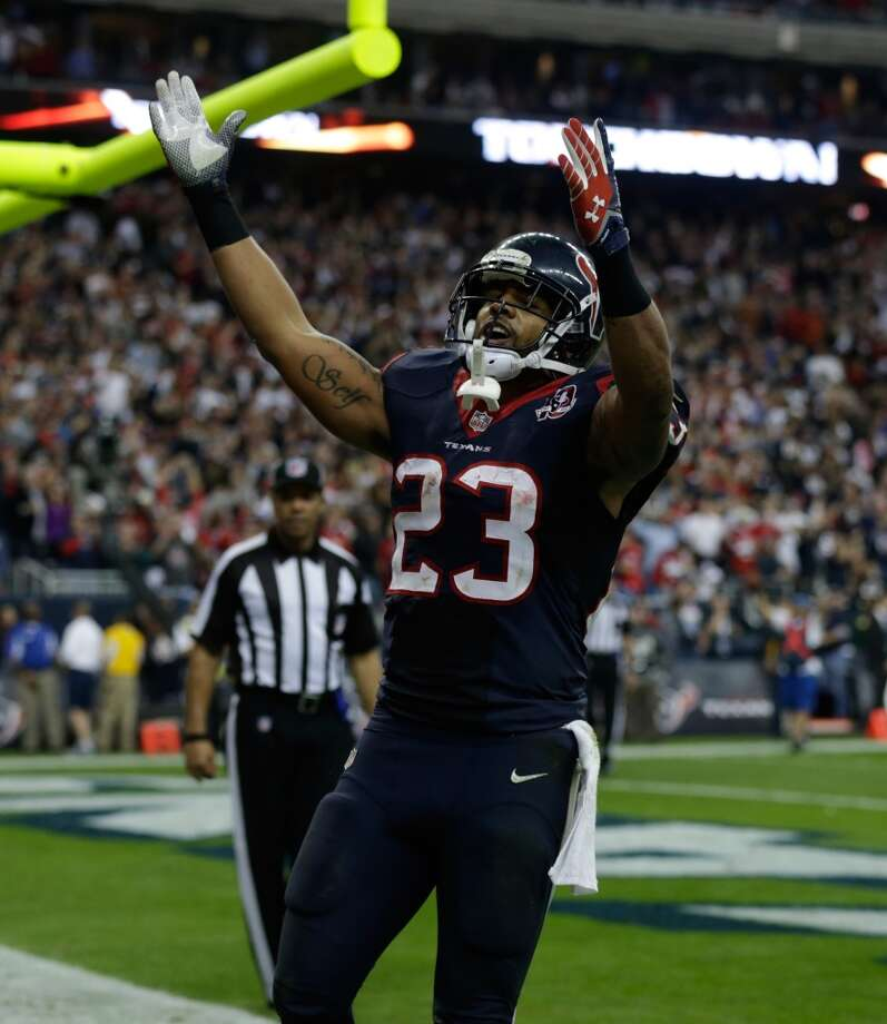 No. 8 Arian Foster, RB, Texans2012 stats: 16 games, 351 carries, 1424 rushing yards, 15 rushing TDs. Photo: Scott Halleran, Getty Images