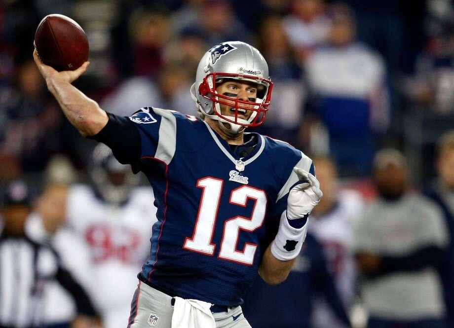 No. 4 Tom Brady, QB, Patriots2012 stats: 16 games, 12-4 record, 4827 passing yards, 34 passing TDs, 8 int. Photo: Jim Rogash, Getty Images
