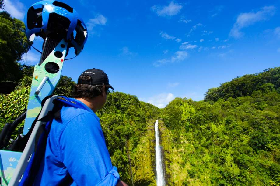 ʻAkaka Falls State Park is also one of the places Google Street View Trekker will record for the Hawaiʻi Visitors and Convention Bureau pilot project.