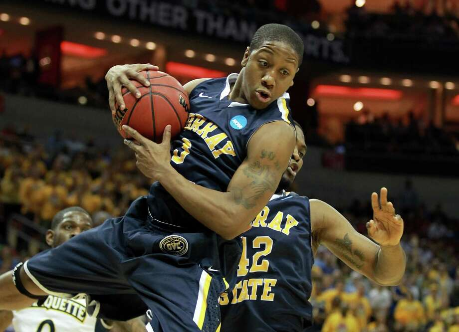 Murray State's Isaiah Canaan, picked No. 34 overall by the Rockets, was named co-Ohio Valley Conference Player of the Year this past season. Photo: Andy Lyons, Staff / 2012 Getty Images