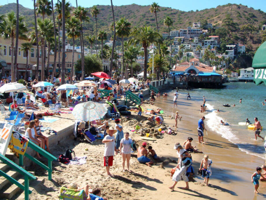 Despite its popularity with summer visitors, Avalon Beach on Catalina Island is a 'repeat offender' in the NRDC's eyes; four out of five sections monitored have had  persistent contamination problems over the last five years.