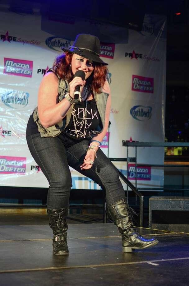 Pride Superstar 2013 finalist Wendy Taylor.