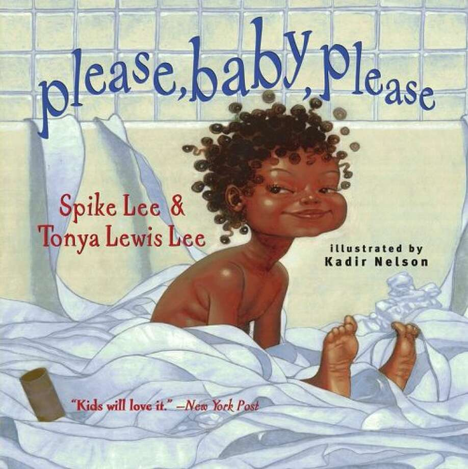 Please, Baby, Please: Director Spike Lee and his wife Tonya Lewis Lee's experiences of raising a baby in the form of a toddler's book. Illustrations by Kadir Nelson.  Age Range: 2 years and up. Photo: Simon & Schuster