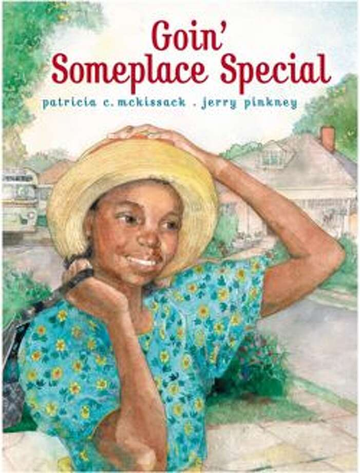Goin Someplace Special: Jerry Pinkney is an award-winning, African-American illustrator. In this book, his pictures tells Patricia McKissack's story about growing up in the segregated South. Age Range: 4 and up Photo: Atheneum/Simon&Schuster