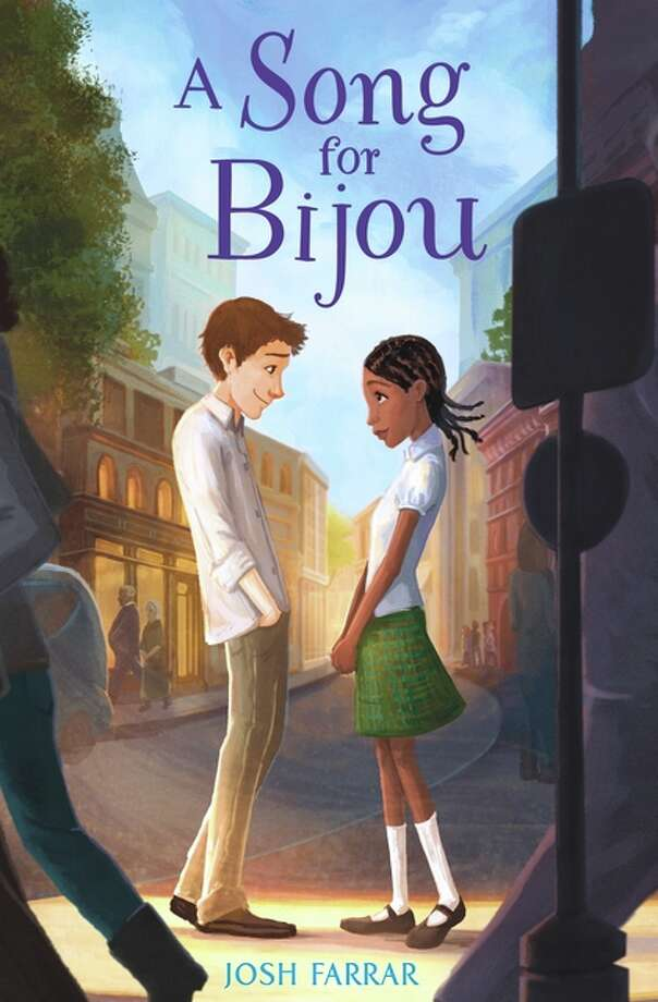 A Song for Bijou: Alex, a Brooklyn boy who goes to an all-boys prep school, meets Bijou Doucet, a Haitian girl who's recently relocated to Brooklyn after the 2010 earthquake. Age Range: 8 years and up. Photo: Bloomsbury Publishing