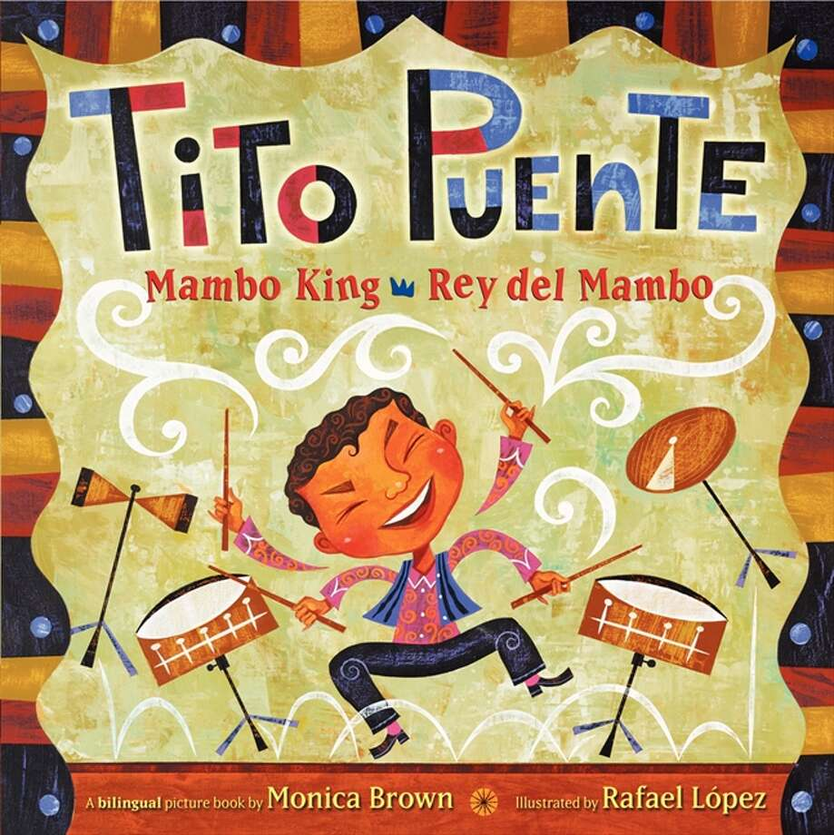 Tito Puente, Mambo King/Rey del Mambo: Tito is a musical prodigy who plays his way to the Grammy Awards in this bilingual book. Age Range: 4 - 8 years Photo: Harper Collins Publishers