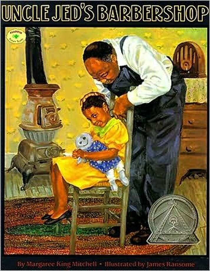 Uncle Jed's Barbershop: Uncle Jed, a black, barber in the South, dreams of opening his own shop, but first his niece, who narrates the story, needs an operation. A story on the injustice of segregation, this book was written in 1998. Age Range: 4 - 7 years. Photo: Simon & Schuster