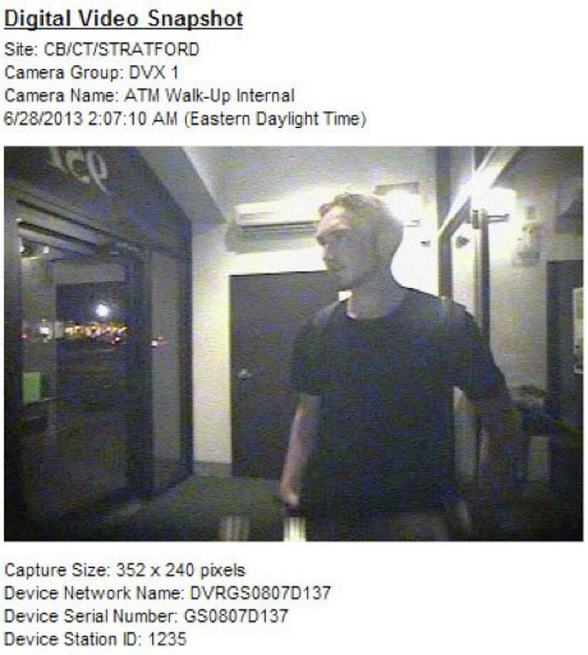 Police are asking for help in identifying this man, a suspect in the case of a vandalized ATM. Photo: Contributed
