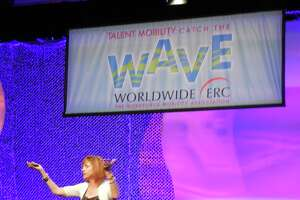 Peggy Smith makes a presentation at the recent Worldwide ERC conference in San Diego.