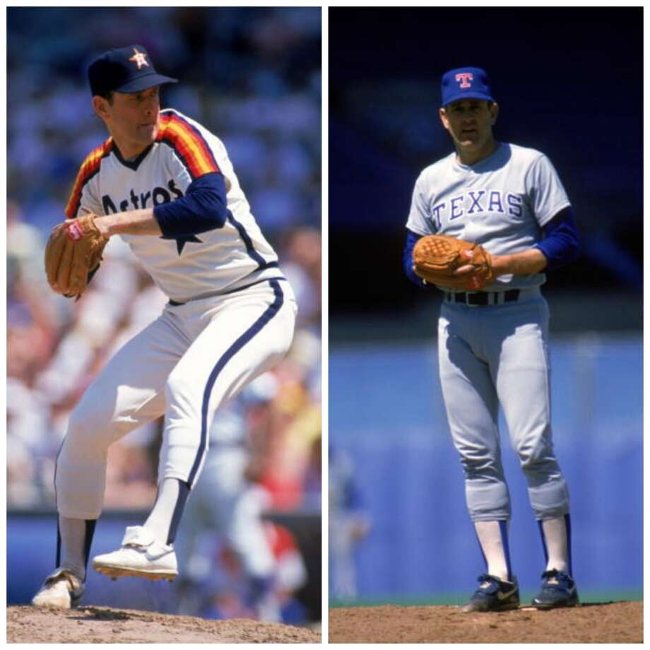 Nolan Ryan vs. Nolan Ryan Houston made Ryan the first million-dollar player in baseball and even though he moved on to the Rangers we still treat him like one of our own.