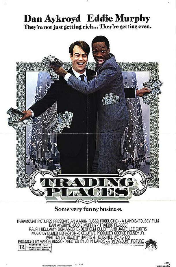 """Trading Places"" is the 1983 Christmas flick that simultaneously skewered and celebrated the ""greed is good"" attitude of the '80s, starring comedy superstars of the time Dan Aykroyd and Eddie Murphy."