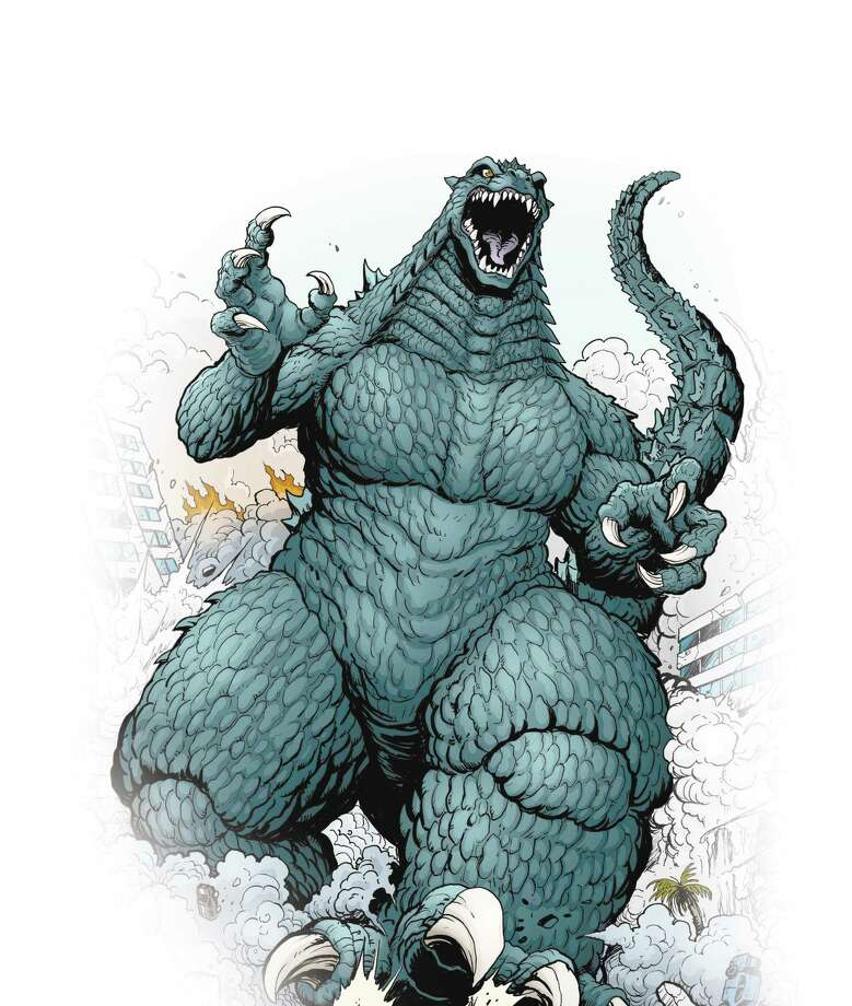 "Godzilla continues a trail of destruction. Artist and San Antonio native Matt Frank is illustrating ""Godzilla: Rulers of Earth,"" a new comic series by IDW Publishing.  