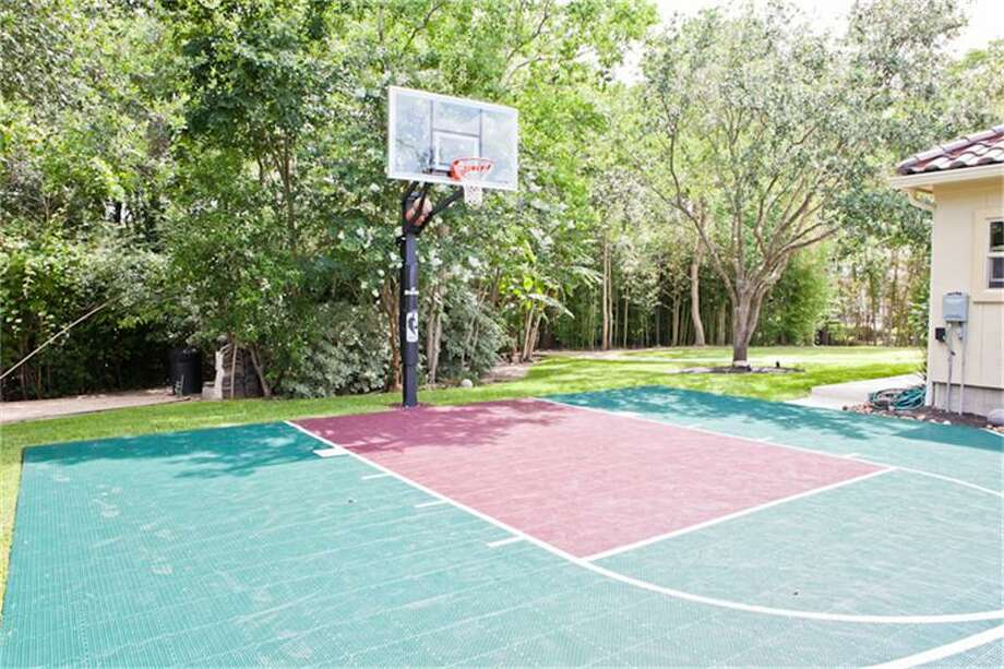2610 Morganfair Ln, Katy, TexasOf course, Howard would welcome a home with its own basketball court.