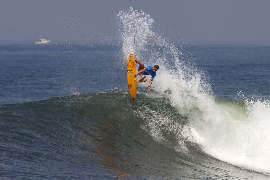 Yadin Nicol of Austraia surfs during round three on June 25, 2013 in Denpasar, Bali, Indonesia.